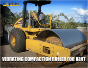 Vibrating Compaction Roller Rental Service Provider in India