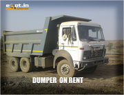 New & Used Tippers Truck/Dumpers For Rent Eqpt.in