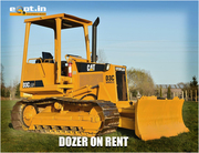 Dozers for Rent Bulldozers rental service in India - Eqpt.in