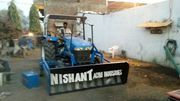 Tractor fitted Dozer - Construction equipment,  building supplies