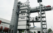 The plant of hot recycling of asphalt RAP120 (120 t / h)