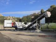 Mobile Concrete Plant T-2200 (70 m3 / h) Sweden