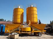 Used Mobile Concrete Plant Sumab M-22 (60 m3 / h,  2002)