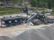 Mobile asphalt plant Sinosun QLB 60 - 60 t / h.