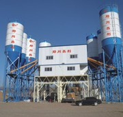 Stationary concrete plant HZS240
