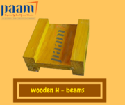Get the clean finish you're looking for with wooden H beams