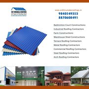 Steel Roofing Contractors in Chennai