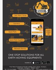 sale|Purchase|Rent New & Used Earth Moving Equipments for|Loaders & Do