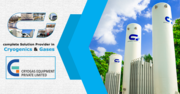 Cryogas Equipment: Cryogenic Thermosiphon Tanks